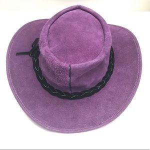 Australian Taz Hatz Suede Traveler Floppy Hat L